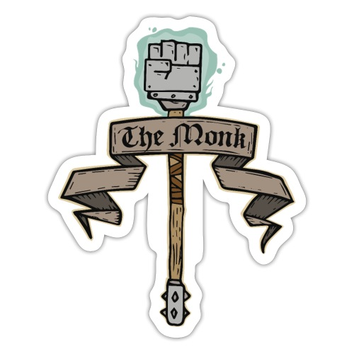 The Monk - Sticker