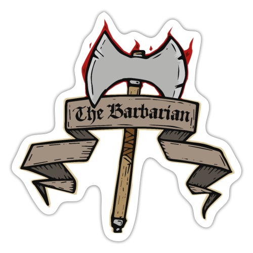 The Barbarian - Sticker