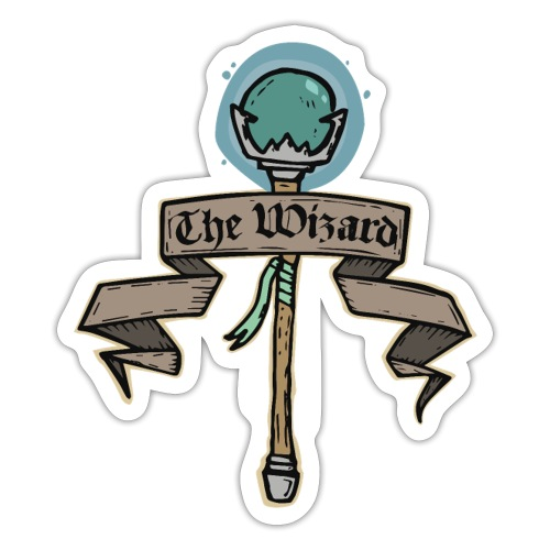The Wizard - Sticker