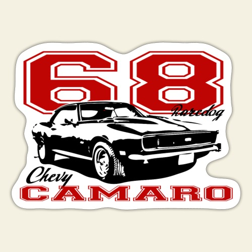 68 camaro sixty eight - Sticker