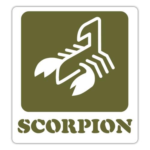 Logo Serie Escorpiones de Acero - Pegatina