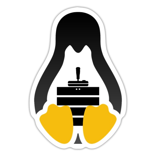 LinuxGSM Dark Logo - Sticker