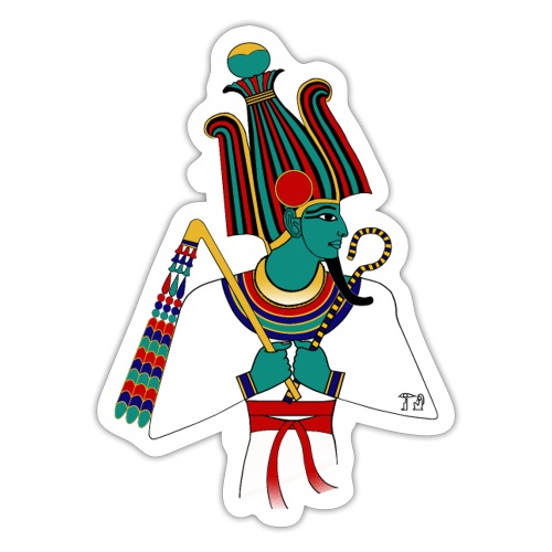 Osiris I altägyptische Gottheit - Sticker