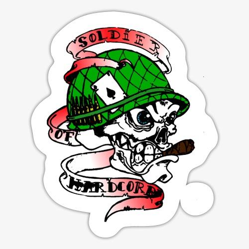 hardstyle punchcore - Autocollant