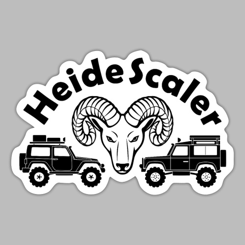Heide Scaler black HQ - Sticker