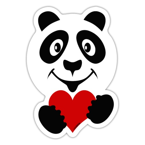 PANDA HEART Tekstiles and Gift products FP10-51A - Tarra