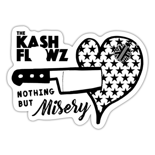Nothing But Misery Logo - Autocollant