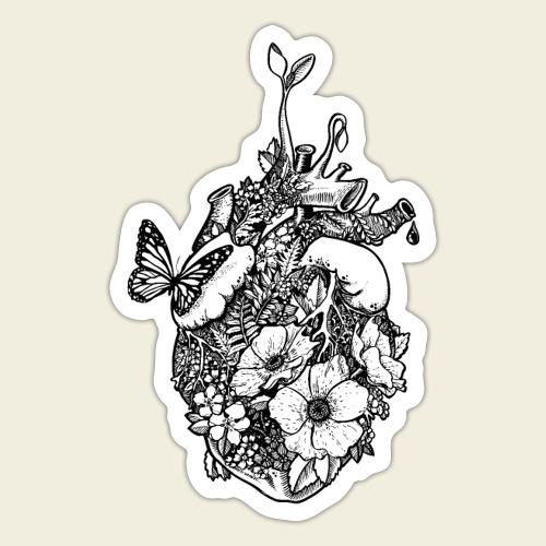 Ans Herz gewachsen - Sticker