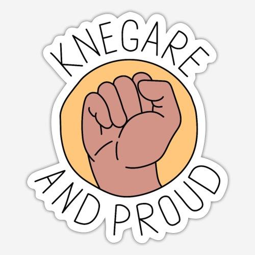 Knegare and proud - Klistermärke
