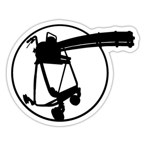 walkerminigun - Sticker