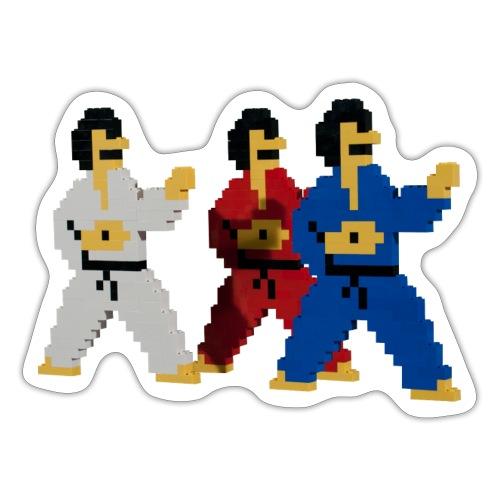 8 bit trip ninjas 1 - Sticker