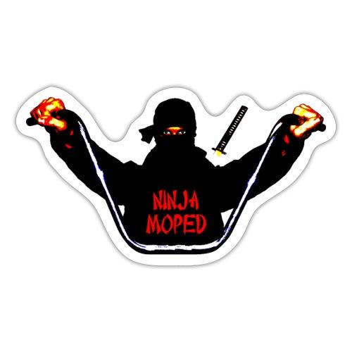 ninja moped - Sticker