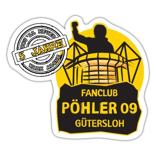Pöhler 09 5 Jahre Stempel - Sticker