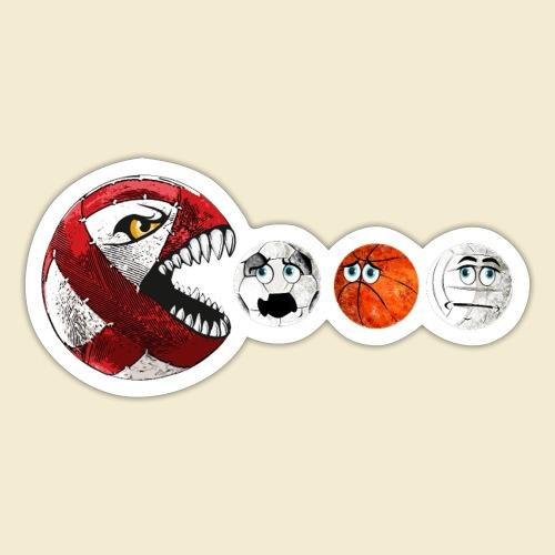 Radball | Cycle Ball RedMan - Sticker