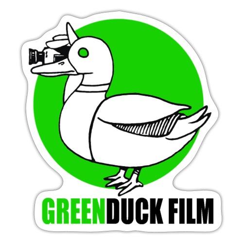 Greenduck Film Ghost Duck Logo - Sticker