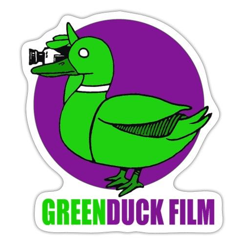 Greenduck Film Purple Sun Logo - Sticker