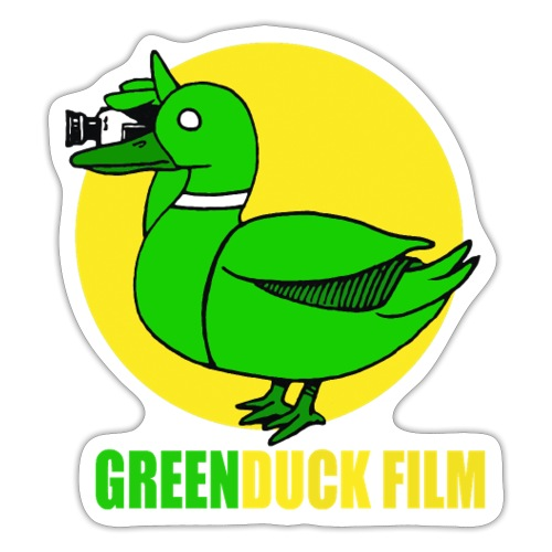 Greenduck Film In the Sun Logo - Sticker