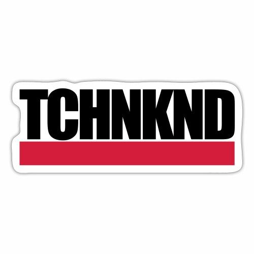 TCHNKND Technokind MNML Schriftzug - Sticker