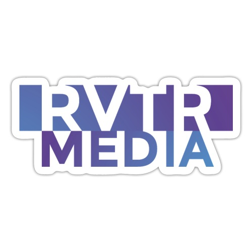 RVTR media NEW Design - Sticker