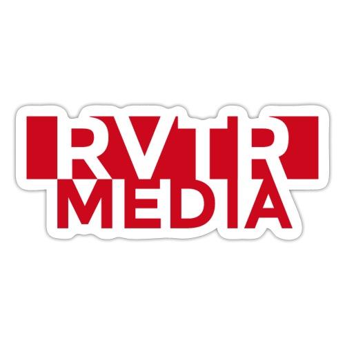 RVTR media red - Sticker