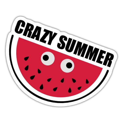 Crazy Melone - Sticker