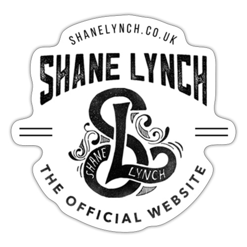 Black - Shane Lynch Logo - Sticker
