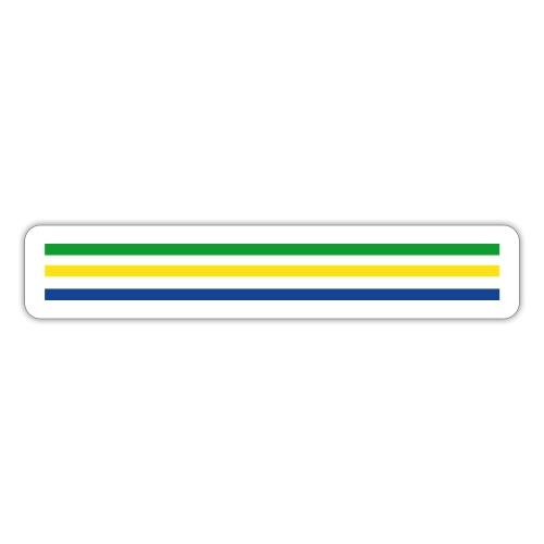 Trait brésil - version 2 - Autocollant