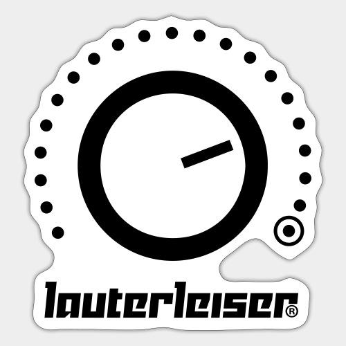 Lauterleiser ® - Sticker