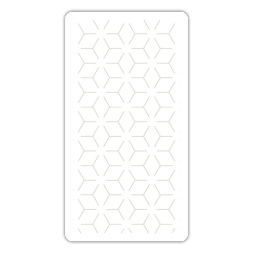 Motif géométrique - Autocollant