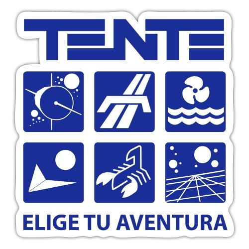 Series de TENTE: Elige tu aventura - Pegatina
