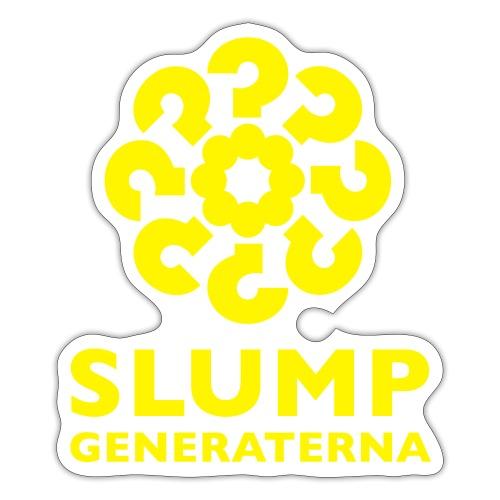 Slumpgeneraternas partisymbol - Klistermärke