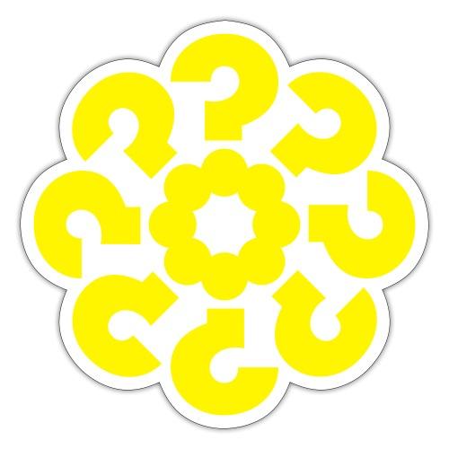 Slumpgeneraternas partisymbol (utan text) - Klistermärke