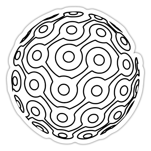 GTMR logo lines - Sticker