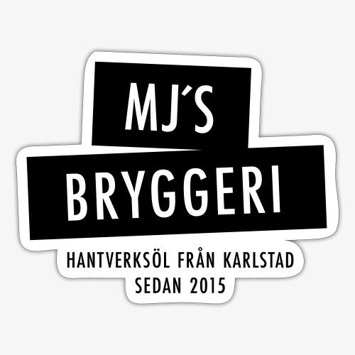 MJs logga - Klistermärke