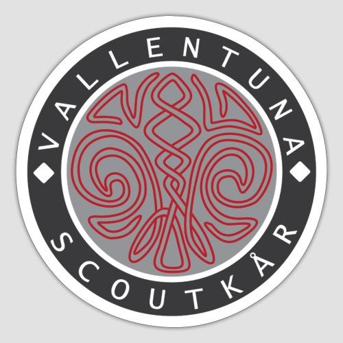 Vallentuna scoutkår - Klistermärke