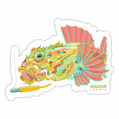 'Scorp' - Long Spined Sea Scorpion - LRF - Sticker