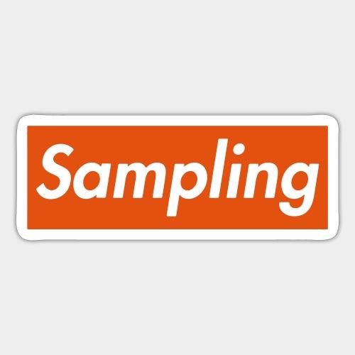 Sampling - Sticker