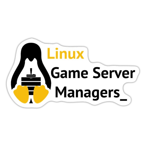 Linux Game Server Managers_ - Sticker