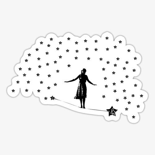 Slackline in the stars - Sticker