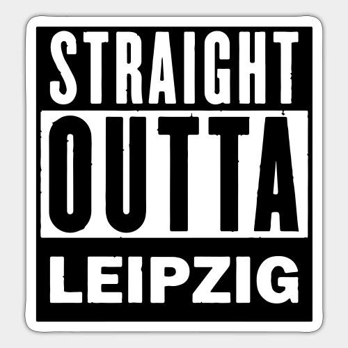 STRAIGHT OUTTA LEIPZIG - Sticker