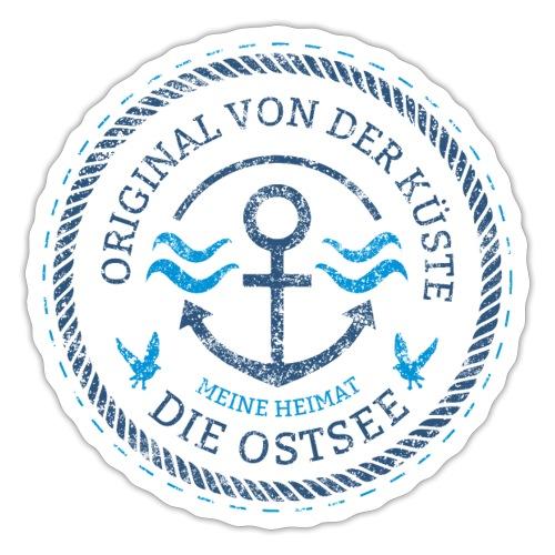 Ich bin ein Original von der Ostsee - Sticker