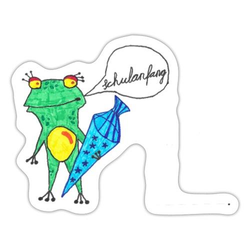 schulanfang - Sticker