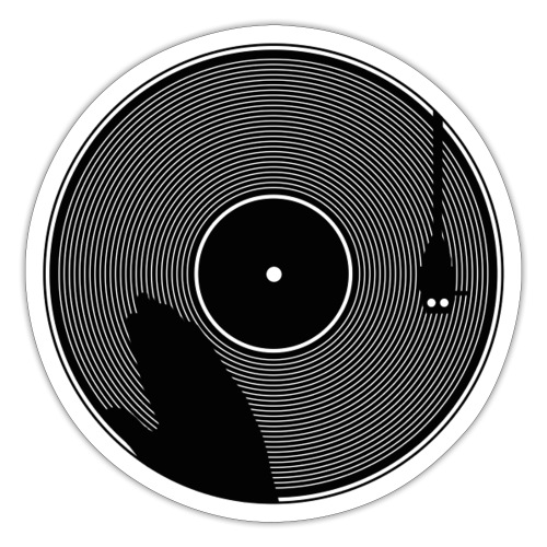Vinyl Scratch! - Naklejka