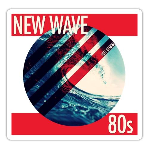 NEW WAVE 80s - Sticker
