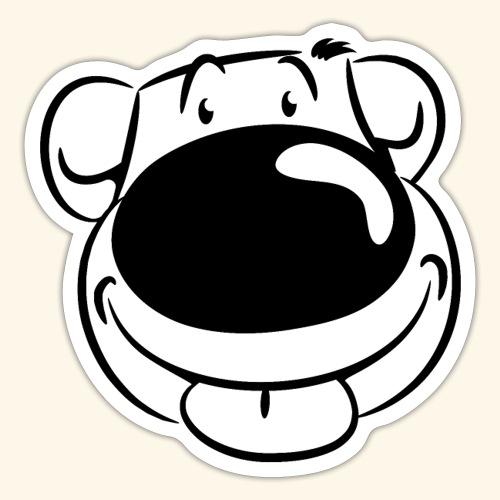 Bär macht Ätsch - Sticker