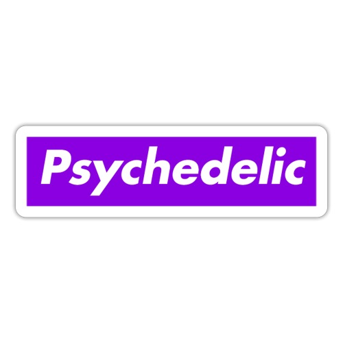 psychedelic - Sticker