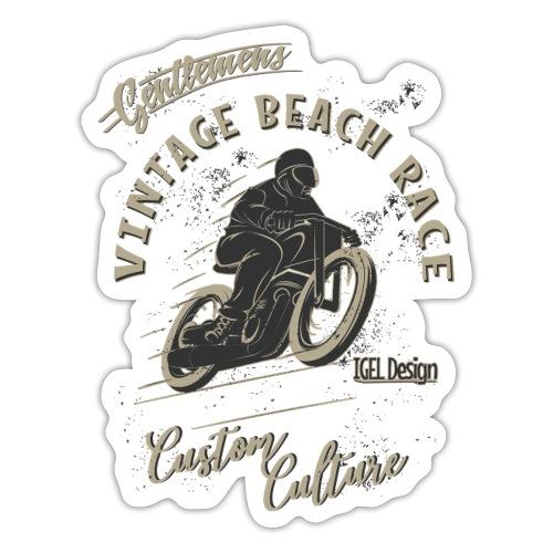 Gentlemans Beach Race Neu - Sticker