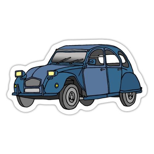 Blaue Ente 2CV - Sticker