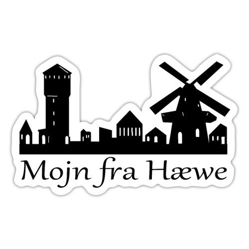 Mojn fra Hæwe! - Sticker