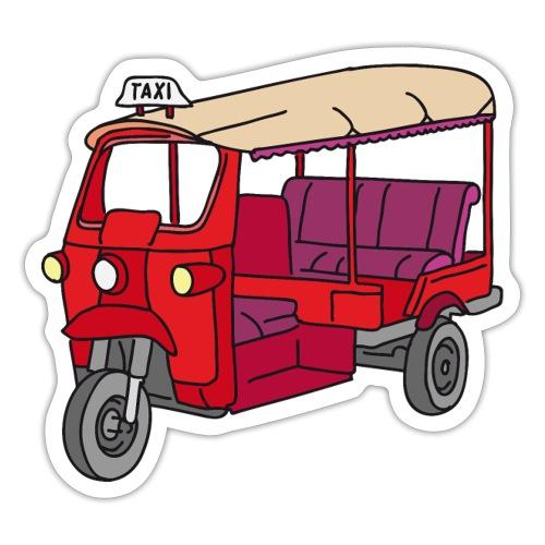 Rote Autorikscha, Tuk-tuk - Sticker